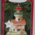 Hallmark Ornament Lighthouse Greetings Magic Lights Holiday 1998 Second Series