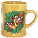Walt Disney World Tigger Coffee Mug Winnie Pooh Gold Ceramic Tea Cup