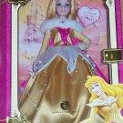 Disney Princess Aurora Porcelain Doll Brass Key Sleeping Beatuy Rare Enchanted