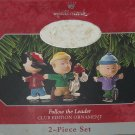 Hallmark Ornament Follow the Leader 1998 Charlie Brown Lucy Peanuts Club Edition