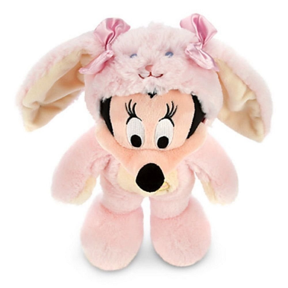 Disney Store Minnie Mouse Bunny Easter Rabbit Plush Toy Exclusive Pink 2014