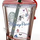 Disney Starbucks Disneyland 60th Anniversay Ornament Clear Tumbler Theme Park