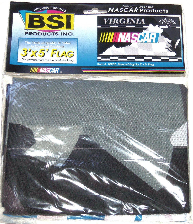 NASCAR Flag Racing Virginia Checkered 3' x 5' New