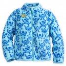 Disney Store Stitch Fleece Jacket for Girls Size 4