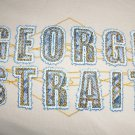 George Strait Concert T-Shirt Men Ladies Gray Country Singer Shirt Size Med