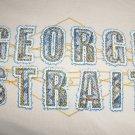 George Strait Concert T-Shirt Men Ladies Gray Country Singer Shirt Size Large