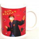 Harry Potter Coffee Mug 2001 Enesco Ron Weasley Sorcerer's Stone