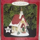 Hallmark Ornament Colonial Church Candlelight Services Magic Lights Holiday