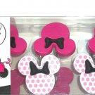 Minnie Mouse Shower Curtain Hooks 12 Pink Bathroom Kids