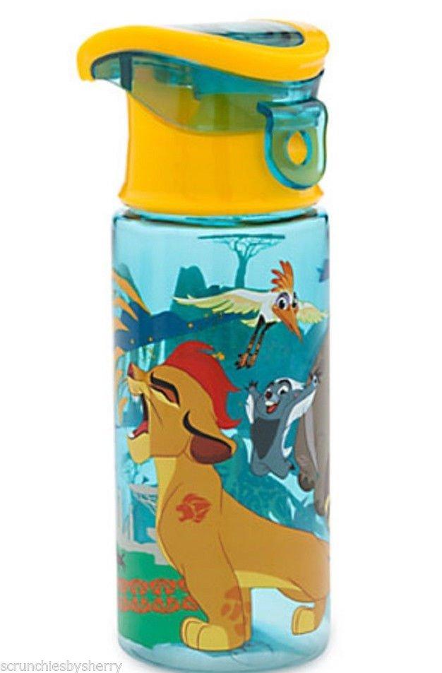 Disney Store Lion Guard Plastic Water Bottle 2015
