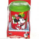 Disney Travel Mug Cup with Lid Minnie Mouse Christmas New