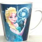 Disney Elsa Frozen Coffee Mug Cup Blue New