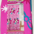 Disney Minnie Mouse Fabric Shower Curtain Pink