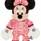 Disney Store Minnie Mouse Christmas PJs Plush Toy Exclusive 2014 New
