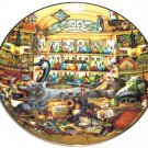 Purr-fect Places Elmer and Loretta Cat Kitty Kitten Collector Plate Bradford Exchange