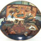 Purr-fect Places Mabel the Stowaway Cat Kitty Kitten Collector Plate Bradford Exchange