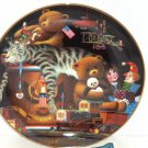 Purr-fect Places Prescott, All Played Out  Cat Kitty Kitten Collector Plate Bradford Exchange