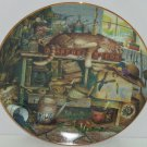 Purr-fect Places Remington the Horticulturist Cat Kitty Kitten Collector Plate Bradford Exchange