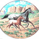 Purebred Horses of America Collector Plate The Appaloosa WS George Donald Schwartz