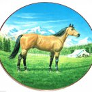 Purebred Horses of America Collector Plate The Quarter Horse WS George Donald Schwartz