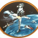 Star Wars Vehicles Collector Plate B-wing Fighter Hamilton Collection Sonia R Hillias