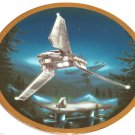 Star Wars Vehicles Collector Plate Imperial Shuttle 2062C Hamilton Collection Sonia R Hillias