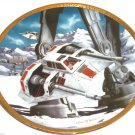 Star Wars Vehicles Collector Plate Snowspeeders 2577B  Hamilton Collection Sonia R Hillias