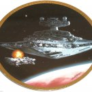 Star Wars Vehicles Collector Plate Star Destoryer 0970C Hamilton Collection Sonia R Hillias