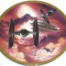 Star Wars Vehicles Collector Plate The Fighters 3517D  Hamilton Collection Sonia R Hillias
