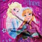 Disney Throw Blanket Frozen Anna Elsa  New