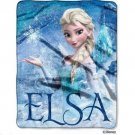 Disney Throw Blanket Frozen  Elsa Silky Touch New