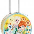 Disney Store Frozen Light-up Rolling Luggage Suitcase Yellow New