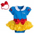 Disney Store Baby Bodysuit Costume Dress Snow White 12-18 Months