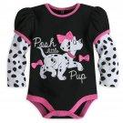 Disney Store 101 Dalmatians Baby Bodysuit 0-3 Months