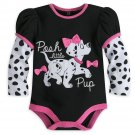 Disney Store 101 Dalmatians Baby Bodysuit 6-9 Months