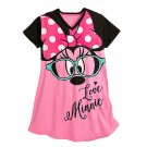 Disney Store Minnie Mouse Ladies Nightshirt Nightgown Pink Size XS/S