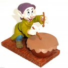 Disney Dopey Figurine Playing Drums Dwarf Snow White 65th Anniversary Collection