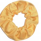 Vegas Gold Cotton Fabric Hair Scrunchie Tie Ponytail Holder Scrunchies by Sherry