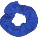 Royal Blue Cotton Fabric Hair Scrunchie Scrunchies by Sherry