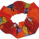 Disney Mickey Minnie Mouse Halloween Fabric hair Scurnchie Scrunchies by Sherry