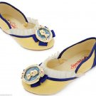 Disney Store Costume Shoes Girls Snow White Size 9/10