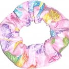Butterflies Butterfly Pink Glitter Fabric Hair Scrunchie Ties Scrunchies by Sherry