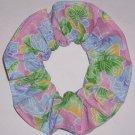 Butterflies Butterfly Pink Fabric Hair Scrunchie Ties Scrunchies by Sherry