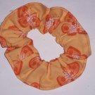 Butterflies Butterfly Orange Fabric Hair Scrunchie Ties Scrunchies by Sherry