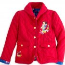 Disney Store Snow White Red Jacket Coat Girls Size 7/8
