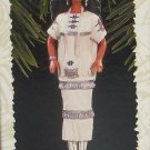 Hallmark Ornament Native American Barbie Christmas 1996 Dolls of the World