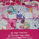 Girls Panties 10 Pack My Little Pony Size 4