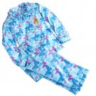 Disney Store Cinderella Sleep Set Pajamas Princess Blue Flannel 2016 Size 4