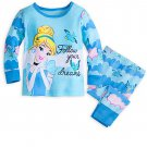 Disney Store Cinderella PJ Pals for Baby Pajamas 0-3 Months