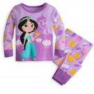 Disney Store Jasmine PJ Pals for Baby Pajamas 0-3 Months